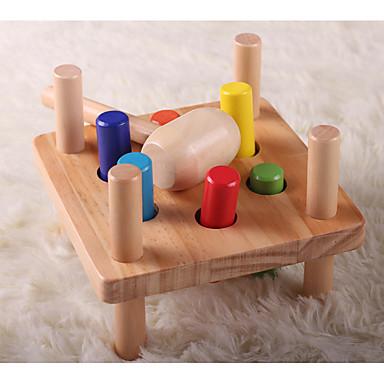 Hammering / Pounding Toy Brinquedo Para Bebê Brinquedo Educativo Educação Clássico Legal Para Meninos Dom