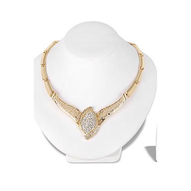 Mulheres Conjunto de jóias 1 Colar 1 Par de Brincos - Euramerican Fashion Irregular Conjunto de Jóias Colar Para Casamento Festa Ocasião