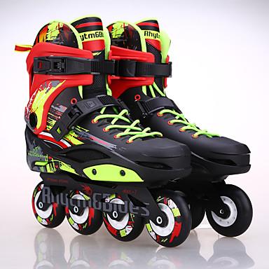 billige Løbehjul, skateboard og rulleskøjter-Inlinere Voksne Justérbar Hvid, Sort rulleskøjteløb