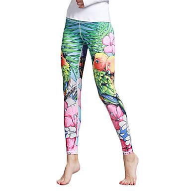 Mulheres Calças de Yoga Esportes Moderno Meia-calça / Leggings Corrida, Fitness, Ginásio Roupas Esportivas Respirável, Secagem Rápida, Power Flex Elasticidade Alta / Inverno