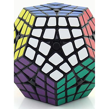 Rubik's Cube Shengshou MegaMinx 4*4*4 Cubo Macio de Velocidade Cubos mágicos Brinquedo Educativo Antiestresse Cubo Mágico Adesivo Liso