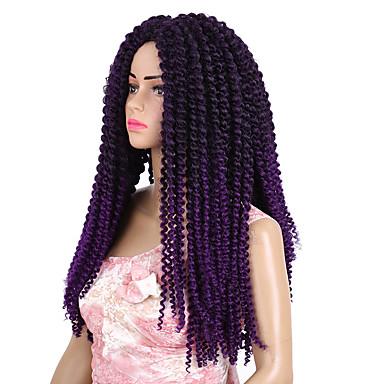 Crochê Clássico Alta qualidade Extensões de Cabelo Natural Tranças Crochet pré-laço Tranças de cabelo Diário