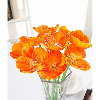 10 Ramo Toque real Outras Flor de Mesa Flores artificiais