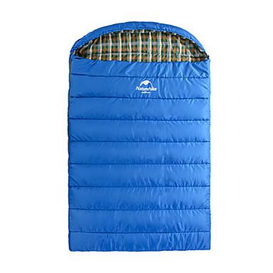 Naturehike Saco de dormir Ao ar livre 0°C Retangular Manter Quente Portátil para Viajar