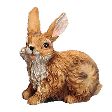 Brinquedos & Bonecos de Ação Rabbit Adorável Resina Para Meninas Dom