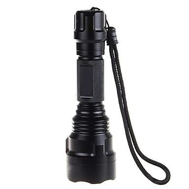 LED svítilny LED 1000lm lm 5 Režim XM-L2 T6 Snadnépřenášení Ultra lehké Taktický Kempování a turistika Každodenní použití Cyklistika