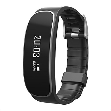Smart Bracelet iOS Android Timer Touch Screen Heart Rate Monitor Water Resistant / Water Proof Calories Burned Pedometers Health Care