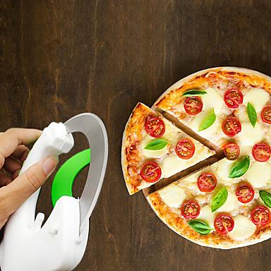 ادوات المطبخ بلاستيك المطبخ الإبداعية أداة كتر والقطاعة للبيتزا 1PC