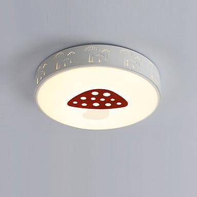 모던/콘템포라리 LED 플러쉬 마운트 엠비언트 라이트 거실 침실 주방 다이닝룸 서재/오피스 금속 전구 포함 110-120V 220-240V 웜 화이트 화이트 1440lm