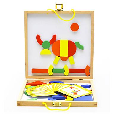 Brinquedo Educativo Quadrada Circular Triângulo Magnética Clássico Para Meninos Brinquedos Dom