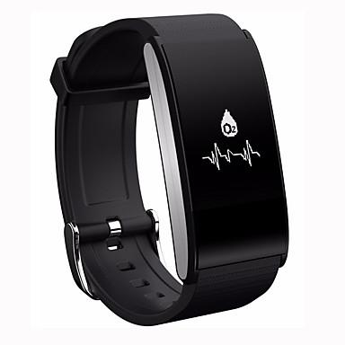 Pulseira inteligente Tela de toque Monitor de Batimento Cardíaco Impermeável Calorias Queimadas Pedômetros Câmera Distancia de