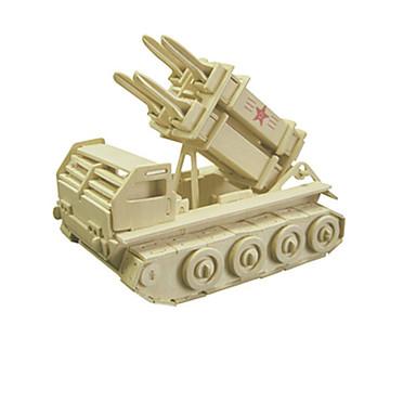 3D퍼즐 우드 모델 장난감 탱크 나무 남여 공용 조각
