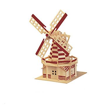 3D퍼즐 우드 모델 장난감 유명한 빌딩 나무 남여 공용 조각