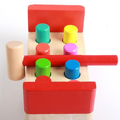 Hammering / Pounding Toy Brinquedo Para Bebê Brinquedo Educativo 1 pcs Diversão Educação Para Meninos Para Meninas Brinquedos Dom