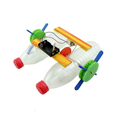 مجموعات البناء سفينة اصنع بنفسك كهربائي للأطفال صبيان فتيات ألعاب هدية