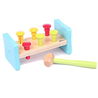 Hammering / Pounding Toy Brinquedo Para Bebê Brinquedo Educativo Brinquedos Educação Clássico Para Meninos Brinquedos Dom