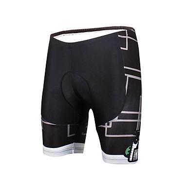 ILPALADINO Homens / Unisexo Bermudas Acolchoadas Para Ciclismo Moto Shorts / Calças Respirável, Tapete 3D, Secagem Rápida Moderno Lycra Ciclismo de Estrada Assenta Relaxadamente Roupa de Ciclismo