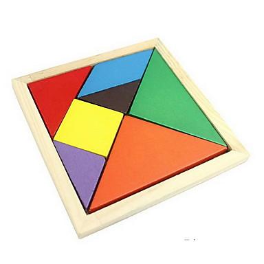 hesapli Oyuncaklar ve Oyunlar-Tangram Ahşap Yapbozlar Kendin-Yap Tahta Genç Erkek Genç Kız Oyuncaklar Hediye