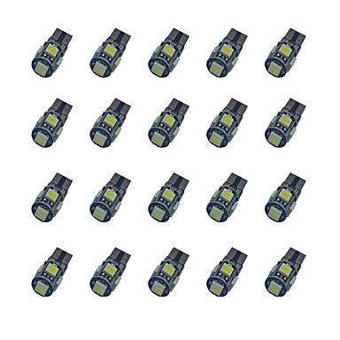20pcs T10 Carro Lâmpadas 1.8 W SMD 5050 58 lm Lâmpada de Seta For Universal