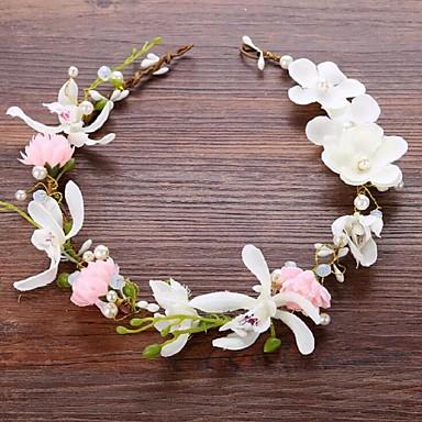 Imitação de Pérola Liga Flores 1 Casamento Ocasião Especial Capacete