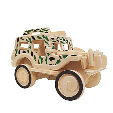 3D - Puzzle Spaß Holz Klassisch