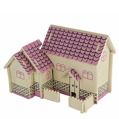 voordelige 3D-puzzels-Legpuzzels 3D-puzzels Bouw blokken DHZ-speelgoed Architectuur Hout Modelbouw & constructiespeelgoed