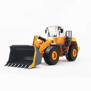 Veiculo de Construção Pás-Carregadeiras de Rodas Caminhões & Veículos de Construção Civil Carros de Brinquedo Carrinhos de Fricção 01:32