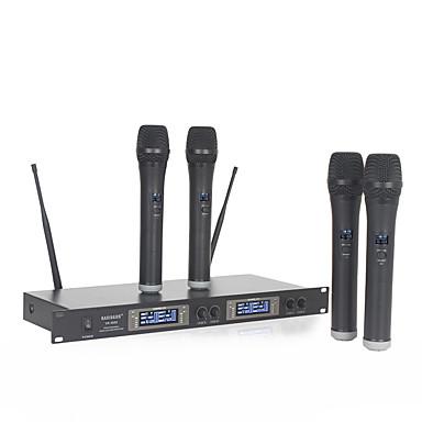 Sem Fio Microfone Sem Fio Microfone Dinâmico Microfone Portátil Para Microfone de Karaoke