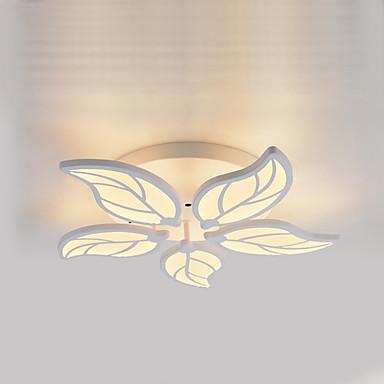 5-الضوء تركيب السقف المدمج ضوء محيط - LED, 110-120V / 220-240V, أبيض دافئ / أبيض, وشملت مصدر ضوء LED / 10-15㎡ / LED متكاملة