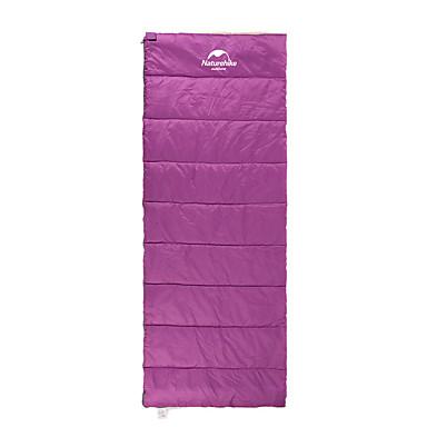 Naturehike Saco de dormir Retangular 5°C Manter Quente Portátil Ultra Leve (UL) Campismo Exterior Viajar Solteiro (L150 cm x C200 cm)