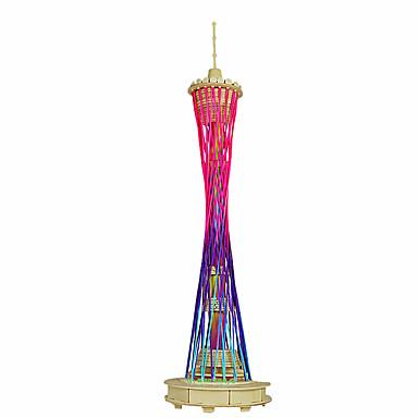 3D퍼즐 나무 모델 조립 완구 키트 유명한 빌딩 중국건축물 재미 나무 클래식