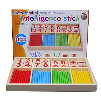 voordelige Rekenspeelgoed-Educatieve geheugenkaartjes Montessori lesmateriaal Bouwblokken Rekenspeelgoed Educatief speelgoed Vierkant Milieuvriendelijk Onderwijs