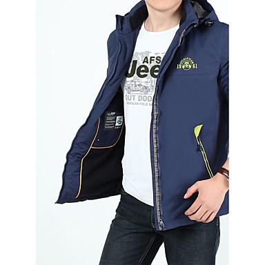 Herrn Wanderjacke warm halten Windundurchlässig Hosen/Regenhose für Camping & Wandern Schnee Sport Winter Herbst