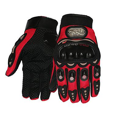Full Finger Unisex Motorcycle Gloves Carbon Fiber Breathable