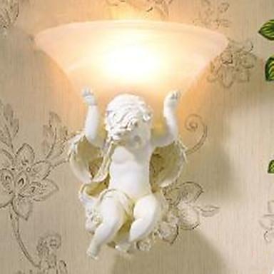 Venkovský styl Novinky Stěnové lampy Pro Pryskyřice nástěnné svítidlo 110-120V 220-240V 40W