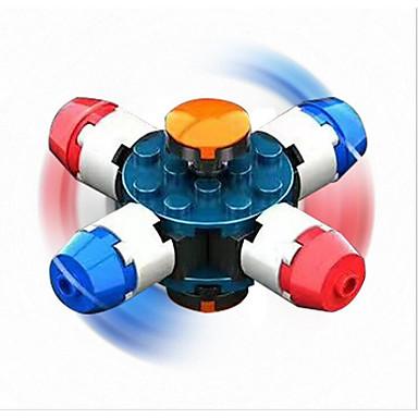 Fidget spinners hand Spinner Stavební bloky Zábavné Ring Spinner ABS Pieces Chlapecké Dětské Dospělé Dárek