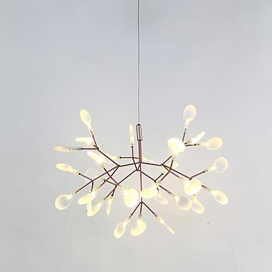 السبوتنيك قمر صناعي نجفات ضوء محيط طلاء ملون معدن LED 110-120V / 220-240V أبيض دافئ وشملت مصدر ضوء LED / LED متكاملة