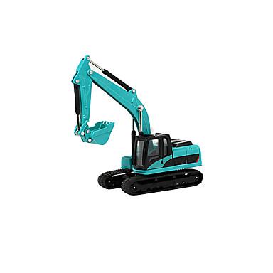 Veiculo de Construção / Escavadeiras / Escavadeiras de Rodas Caminhões & Veículos de Construção Civil / Carros de Brinquedo / Brinquedos de Puxa & Empurra 1:60 Simulação / Música e luz cromada