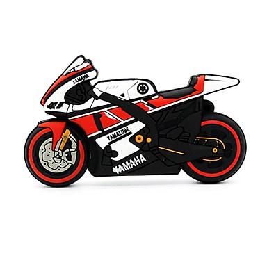 8GB unidade flash usb disco usb USB 2.0 Plástico Motocicletas Desenho Animado W24-8