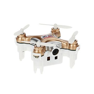 RC Drone Cheerson CX-10WD-TX 4CH 6 Eixos 2.4G Com Câmera HD 0.3MP 0.3 Quadcópero com CR Quadcóptero RC Controle Remoto