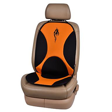 Almofadas para Assento Automotivo Almofadas de assento Laranja Tecido TNT Comum Para