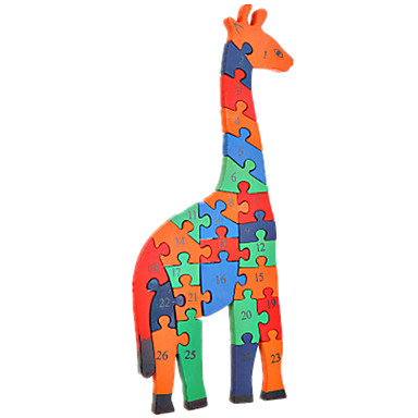Palapelit DIY-setti Rakennuspalikoita DIY lelut Animal