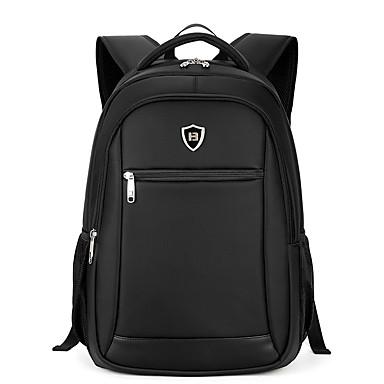 Homens Bolsas Tecido Oxford mochila Suave para Escritório / Carreira Casual Formal Viajar Ao ar livre Estações Cruzadas Preto