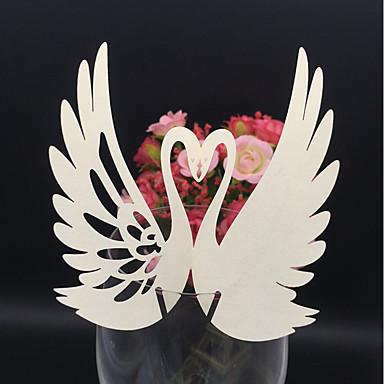 Casamento / Ocasião Especial / Festa/Eventos / Festa / Noite / Noivado Material Cartão de Papel Duro Decorações do casamento Férias