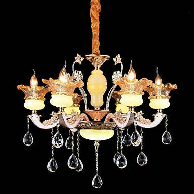 tradiční klasika Křišťál Mini styl Lustry Tlumené světlo Pro Obývací pokoj Ložnice Jídelna studovna či kancelář Chodba 110-120V 220-240V