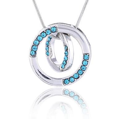 Dámské Náhrdelníky s přívěšky Šperky Šperky Štras Slitina Euramerican Módní Šperky Pro Párty Zvláštní příležitosti