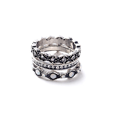 Dámské Prsten Módní Euramerican Slitina Šperky Pro Svatební Párty