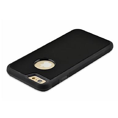 Capinha Para Apple iPhone 7 Plus iPhone 7 Faça Você Mesmo Capa traseira Côr Sólida Rígida PC para iPhone 7 Plus iPhone 7 iPhone 6s Plus