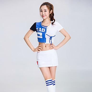 me cheerleader pukuja puku naisten suorituskykyisen polyesterin liitos