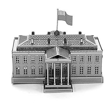 Puzzle 3D puzzle Stavební bloky DIY hračky Architektura Kov Modelování